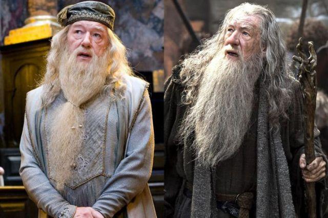 Gandalf and Dumbledore